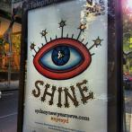 Eye of Lucifer on streets of Sydney